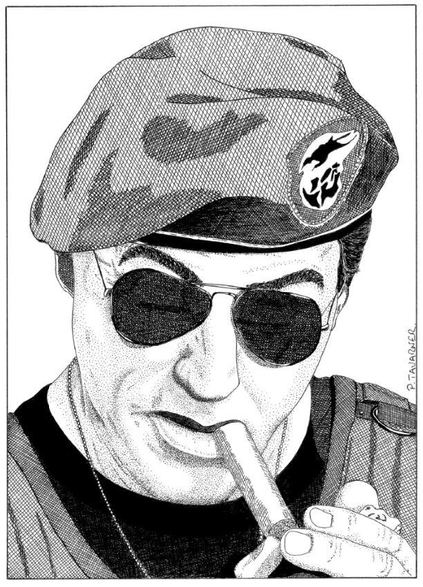Sylvester Stallone par P.Tavarner